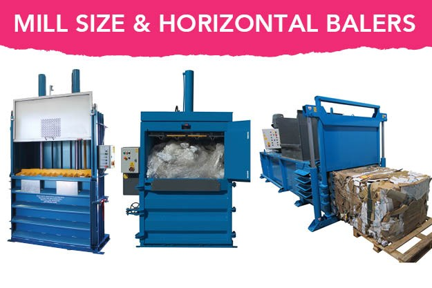 Mill Size and Horizontal waste Balers