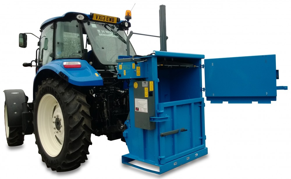farm plastic recycling baler