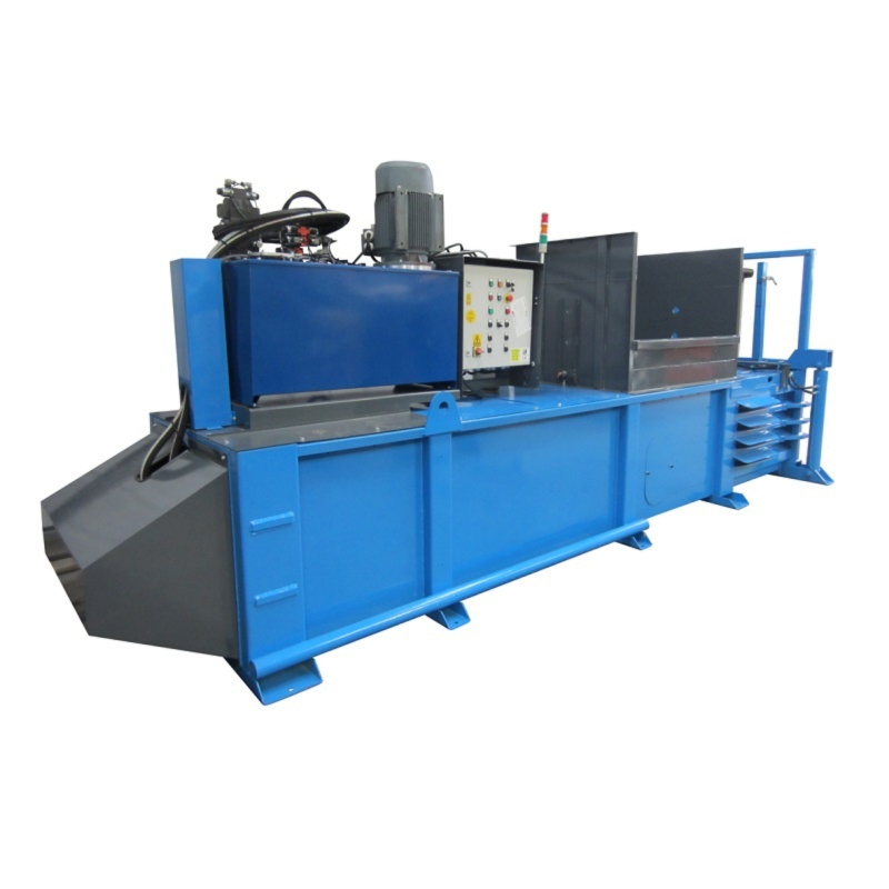 QCR 500HZ Horizontal Waste Baler