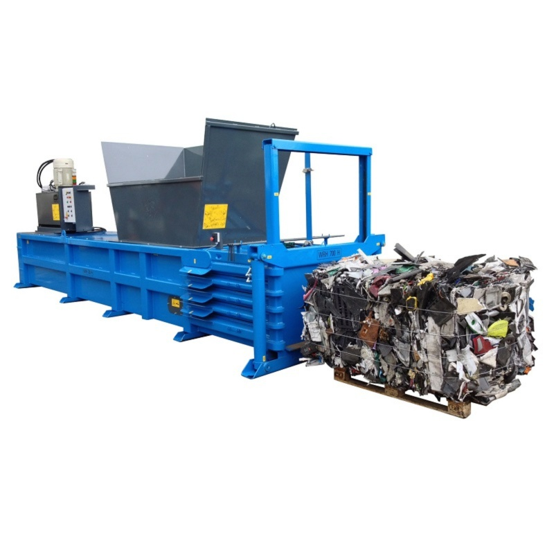 QCR 700HZ Horizontal Waste Baler
