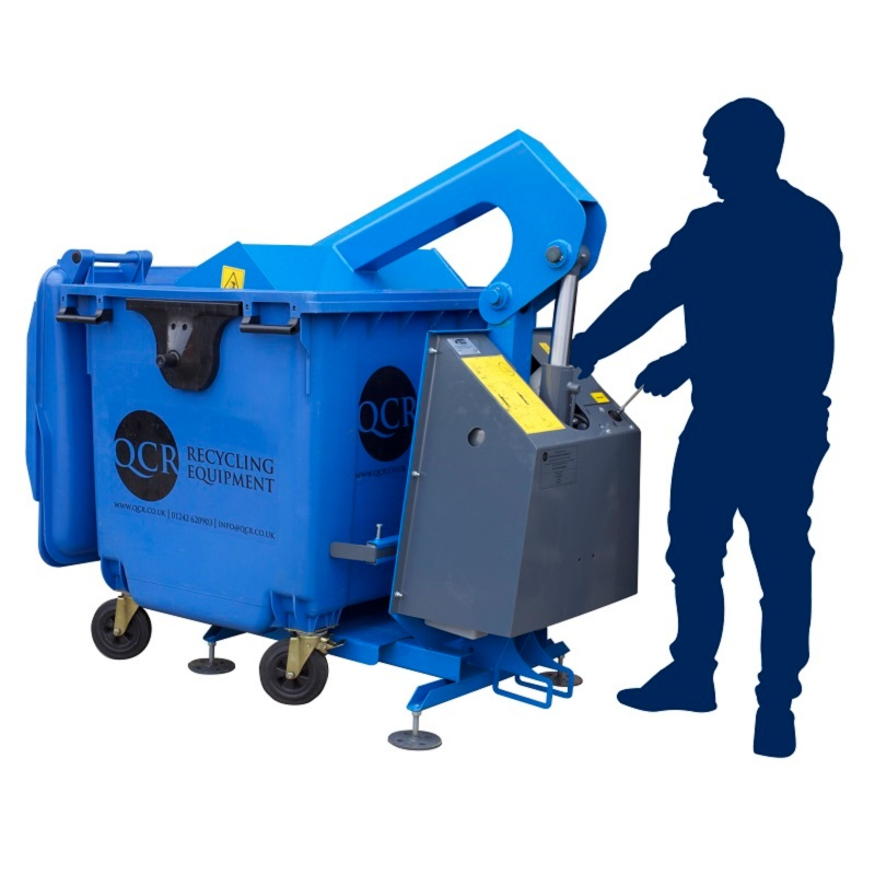 General commercial waste compactors qcr recycling Garbage compactor