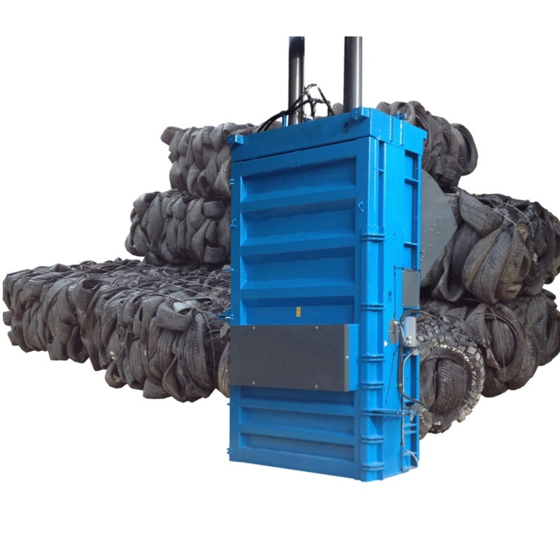 QCR tyre recycling baler