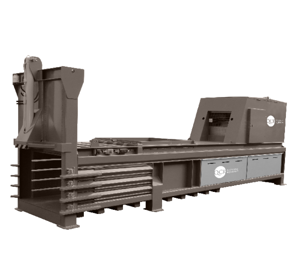 QCR 600HZ Horizontal Waste Baler