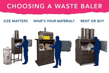 Advice on choosing a waste baler