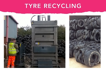 The best tyre baler available