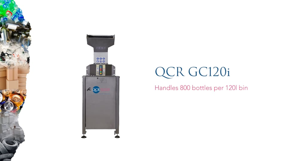 QCR GC120i Bottle Crusher