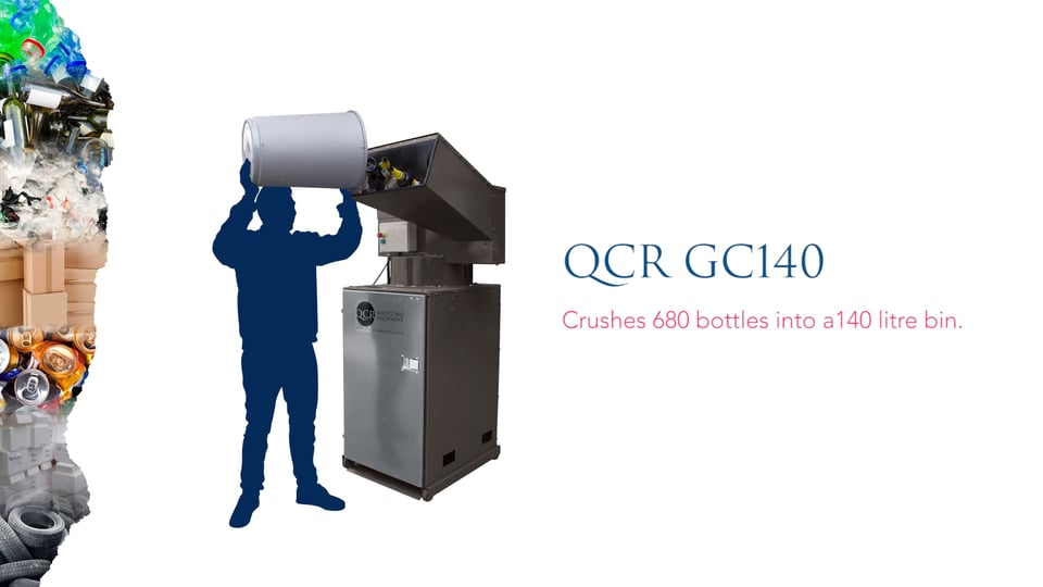 QCR GC140 Bottle Crusher