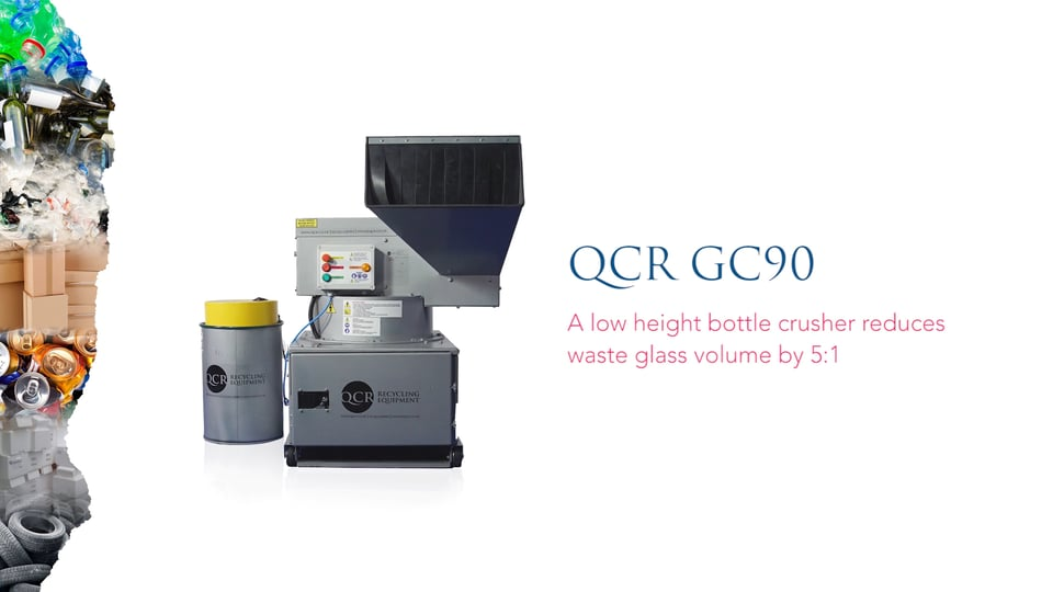 QCR GC90 Bottle Crusher